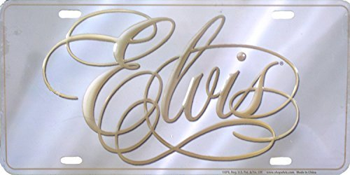 Mid-South Products Elvis Presely Collector Series License Plate ()
