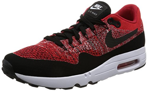 Nike Air Max 1 Ultra 2.0 Flyknit Mens Shoes University Red-Black-University Red/Stealth/Royal