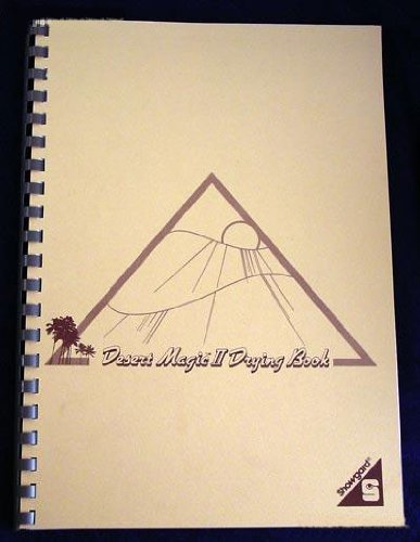 Showgard Desert Magic II Stamp Drying Book by Honest Steal