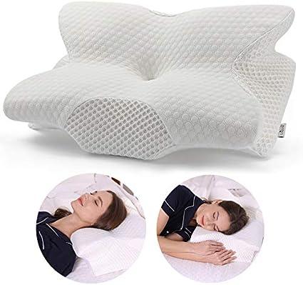 Amazon Com Coisum Back Sleeper Cervical Pillow Memory Foam