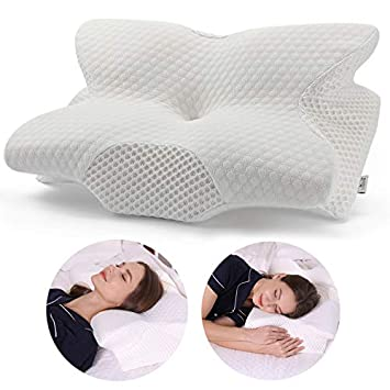 Amazon.com: Coisum Back Sleeper Almohada cervical – Almohada ...