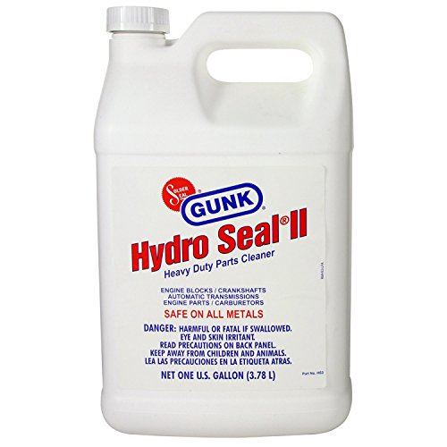 GUNK HS3-4PK Hydro Seal Heavy Duty Parts Cleaner - 1 Gallon, (Case of 4) by Gunk