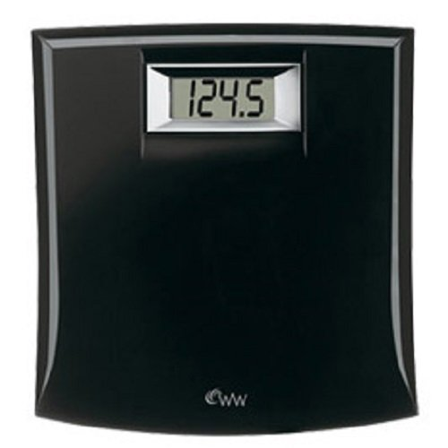 Conair Weight Watchers Compact Electric Scale - Black