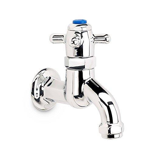 Krowne Metal 16-470L Krowne Royal Single Deck Mount Self-Closing Metering Lavatory Faucet w/ Fixed Spout