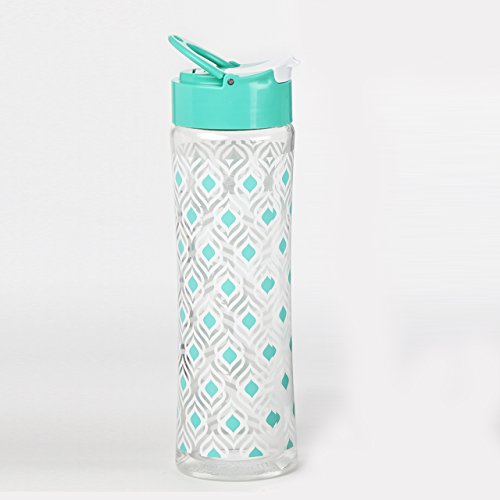 fit-fresh-pattern-chill-containers-tritan-water-bottle-20-oz-gray-and-aqua