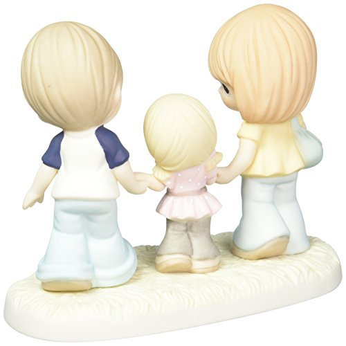 Precious Moments Family Is A Gift That Lasts Forever Bisque Porcelain Figurine 163014
