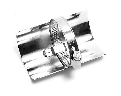 Hitzeschutzblech Universal 4 10 cm Chrom