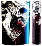 JWraps Dripping Skull Custom E-Cigarette Protective Vinyl Skin Wrap for Pioneer4you IPV5 MOD Vaporizer