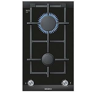 Siemens ER326BB70E hobs - Placa (Integrado, Gas, Cerámico, Giratorio, 1m, 4700W) Negro