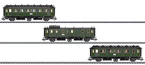 (Märklin 043320 Royal Bavarian 3pc Passenger Car Set)