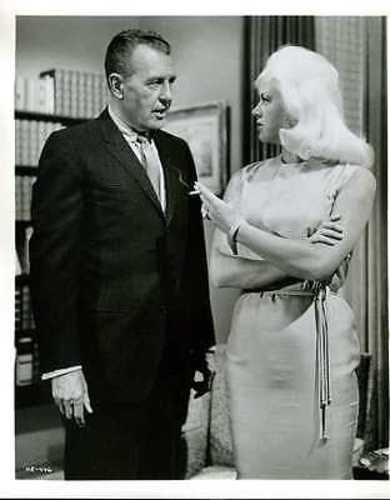 "Diana Dors Ralph Bellamy The 11th Hour Indigenous 8x10"" Photo #K2805"