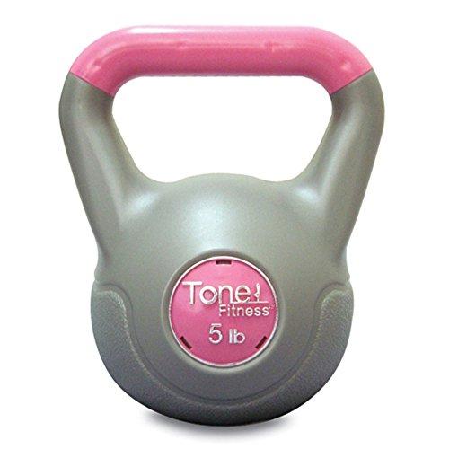 Tone Fitness Kettlebell, Vinyl