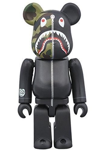 3b9dbb31 Amazon.com: 1st CAMO SHARK BE @ RBRICK 100% BLACK: Toys & Games
