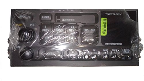 Delco 15769262 Radio Cassette Player for GMC and Chevy