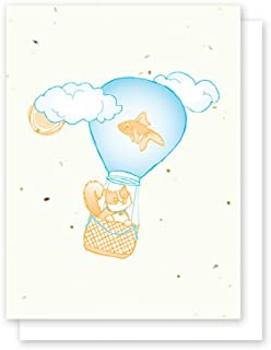 product image for Grow A Note® Cat Fishin' Cards 5-Card Bulk Pack