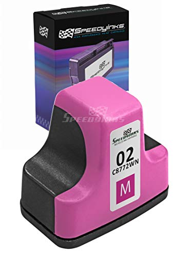 Speedy Inks Remanufactured Ink Cartridge Replacement for HP 02 (Magenta) (Hp C5150 Printer)