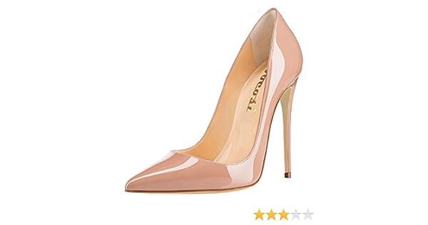 0cc4a80e3f3 Amazon.com | VOCOSI Women's Sexy Point Toe High Heels, Patent ...