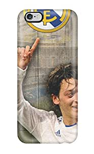 Rugged Skin Case Cover For Iphone 6 Plus- Eco-friendly Packaging(mesut Ozil Hd12)