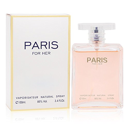 PARIS FOR HER, 3.4 fl oz. Eau de Parfum Spray for Women, Perfect Gift