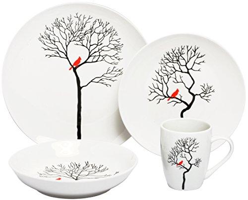 Melange Forest Porcelain Setting Serving