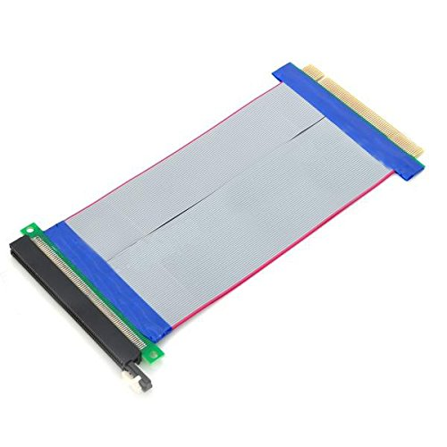 PCIE x16 Riser Card 164pin Extender Flexible Ribbo...