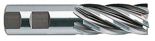 YG-1 04462 HSSCo8 End Mill 4-1//2 Length Regular Length Uncoated Finish 6 Flute 1-1//2