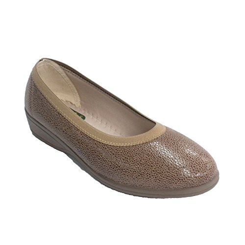 chaussure Lycra chaque femme Doctor Cutillas en brun moyen