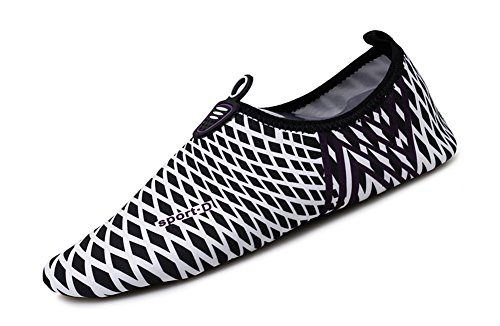 Sports Shoes Aqua Water Slip Black On COSDN Quick Women's Lightweight Drying Z5wpa8xz