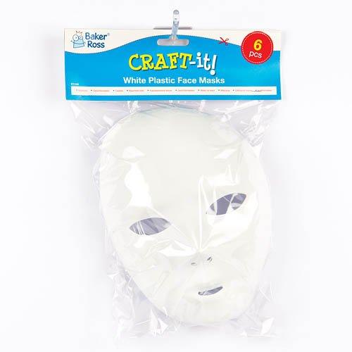 bianco 20/cm x 15/cm Baker ROSS maschere