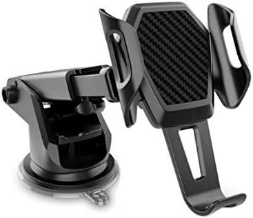 車の電話ホルダー、GPSナビゲーション付きサクションカップタイプ粘性サクションカップベースカーセンターコンソール
