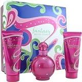 Fantasy Britney Spears By Britney Spears Set-Eau De Parfum Spray 3.3 Oz & Body Souffle 3.3 Oz & Shower Gel 3.3 Oz For W