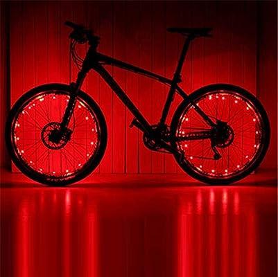 Bicicleta Decoración Rueda Luces,Accesorios Para Montar Al Aire ...