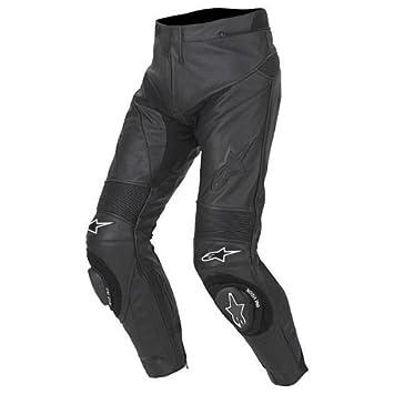 Amazon.com: Alpinestars Track Pantalones de piel negro US 28 ...