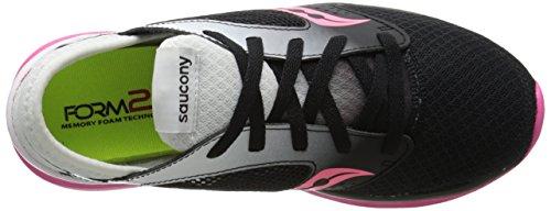 Saucony Womens Kineta Relay Womens Footwear White/Black/Pink