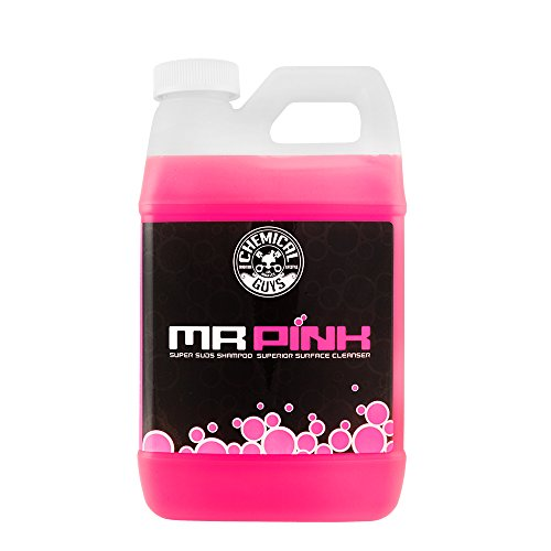 Chemical Guys CWS_402_64 Mr. Pink Super Suds Shampoo & Superior Surface Cleanser (64 oz), 64 fl. oz, 1 Pack