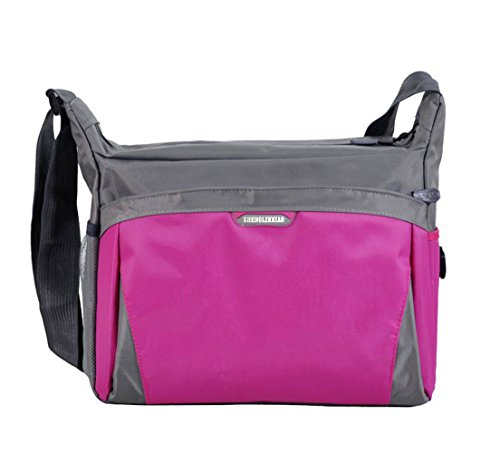 Alpine Nylon Sleeping Bag (Top Shop Womens Nylon School Shoulder Handbags Casual Totes Messenger Bags Pink Satchels)