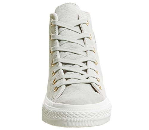 Leather Star Barely Unisex All Erwachsene Converse Ash Green Grey Sneaker White p6UAx6dq