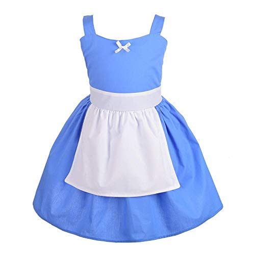 F1rst Rate Beautiful Costumes Princess Dress Up Summer Dresses for Baby & Toddler(Blue-18 Months|Blue) ()