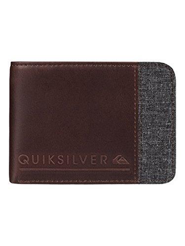 Quiksilver Men Mix Fabric II Wallet One Size Chocolate