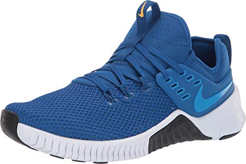Nike Men's Metcon Free Training Shoe Team Royal/Amarillo-LT Photo Blue 8.5