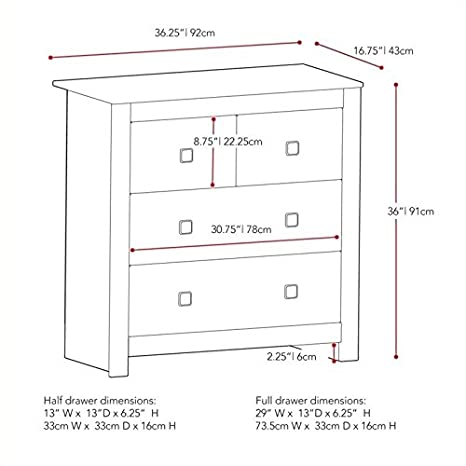 Amazon.com: Atlin Designs - Cómoda con cajones: Toys & Games
