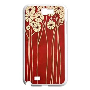 Flower DIY Case Cover for Samsung Galaxy Note 2 N7100 LMc-21753 at LaiMc