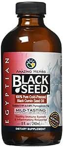 Amazing Herbs Egyptian Black Seed Oil, 8 ounces