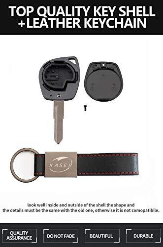 /Funda/Mando/a/Distancia/2 Botones/para/Coche/Suzuki Igins Alto SX4 Vauxhall Agila Swift Jimny Gran Vitara Ignis Opel Agila Fiat Sedici Carcasa/Llave/para/Suzuki