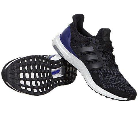 Adidas Black/Purple Men US
