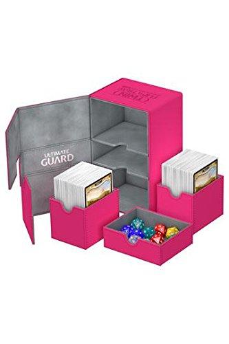 (Ultimate Guard - Deck Box: Twin Flip N Tray Xenoskin 160 Pink)