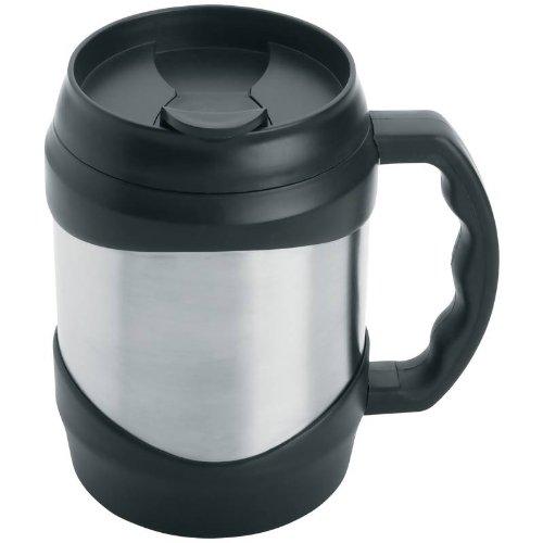 Maxam KTMUG52 Stainless Steel Oversized Mug, 52 oz, NA