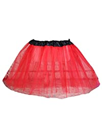 Monalia Kids Half Slip Classic Tulle Tutu Skirt Dancing Crinoline 10 Colors MPC4