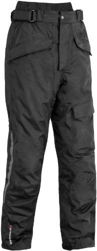 Firstgear Men's HT Overpants (Black, Size 32) (Overpants Touring)
