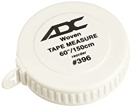 ADC 396 Woven Tape Measure, 60-Inch/150cm